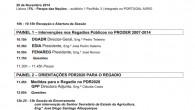 """A FENAREG – Federação Nacional de Regantes de Portugal promoveu a realização da Jornada Regadio 2014 sobre a """"Modernização do […]"""